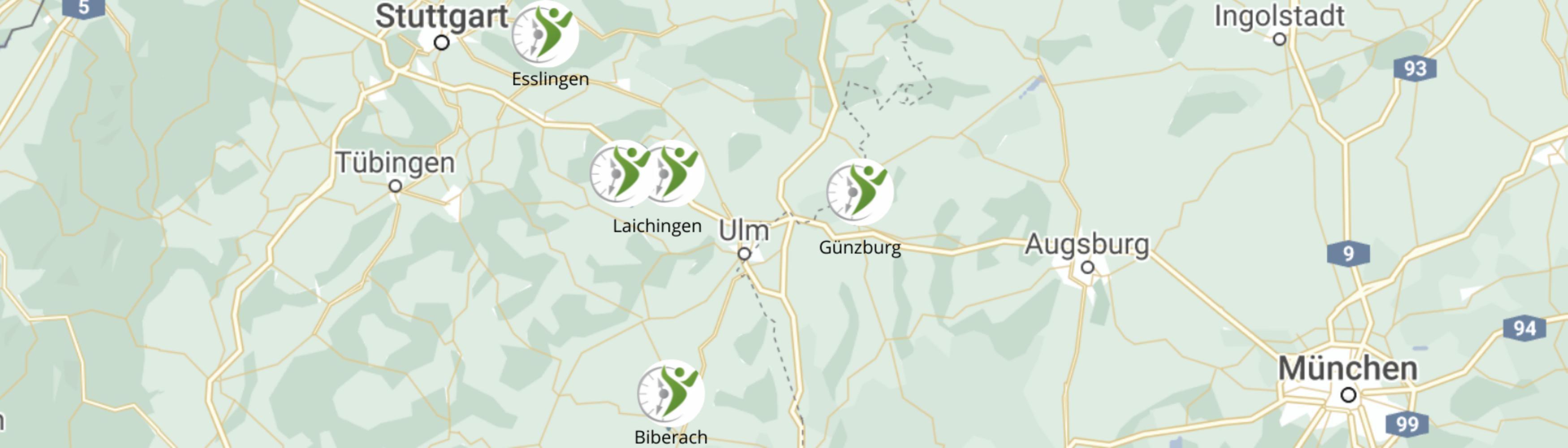 Alb Zeitarbeit Standorte Laichingen, Biberach, Günzburg, Esslingen