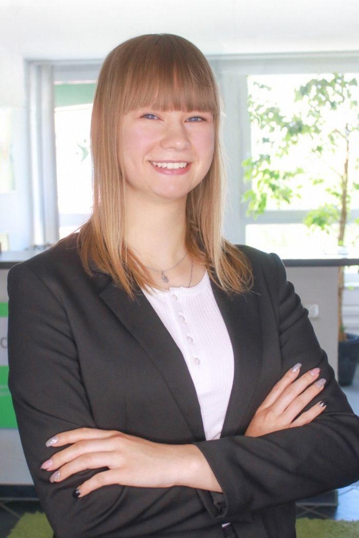 Janina Melnicenko Auszubildende Alb Zeitarbeit